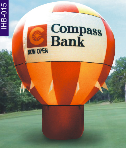 Inflatable Ideas - Compass Bank Inflatable